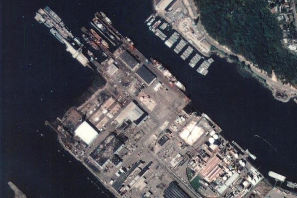 Port industrial yard